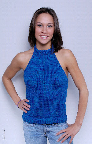 CROCHETED FREE HALTER PATTERN TOP   Crochet and Knitting