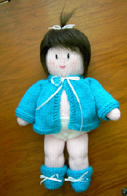 Bella Bambina Knits: Kelly's Sweater for AG dolls