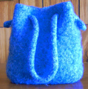 Free Knitting Pattern Simple Bag : Knitting Pattern Central - Free Pattern - Felted Purse