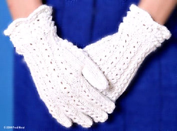 Knitting Pattern Central Directory : Knitting Pattern Central - Free Pattern - Whitehall Gloves